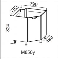 Стол-рабочий 850 (угловой под мойку)